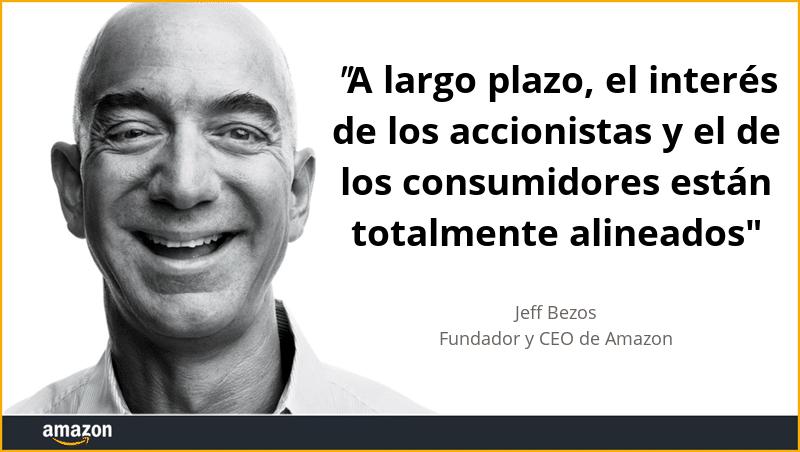 Jeff Bezos y Amazon, una historia de obsesión por el consumidor