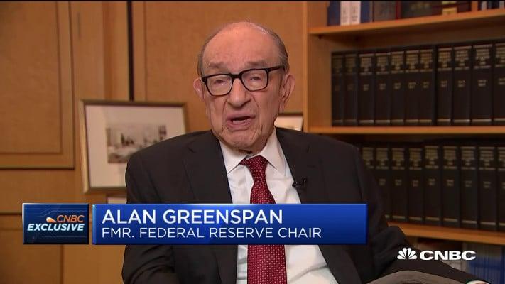 Alan Greenspan, ex-Presidente de la Reserva Federal, debate sobre el efecto del déficit en la inflación