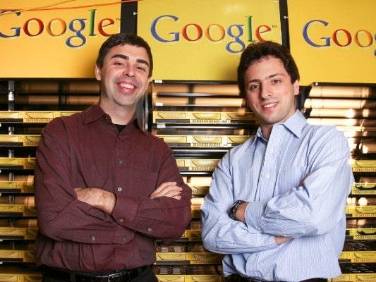 Larry Page y Sergey Brin, fundadores de Google