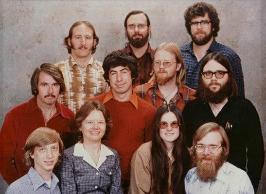 Los 11 primeros empleados de Microsoft