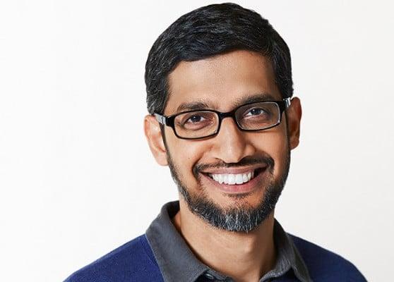 Sundar Pichai - CEO de Alphabet