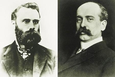 Charles Dow y Edward Jones