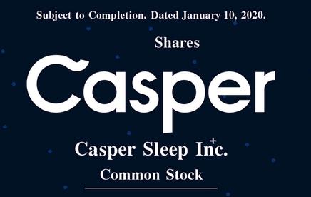 Casper Sleep saldrá a bolsa en el New York Stock Exchange.