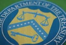 Sello del Departamento del Tesoro de los Estados Unidos